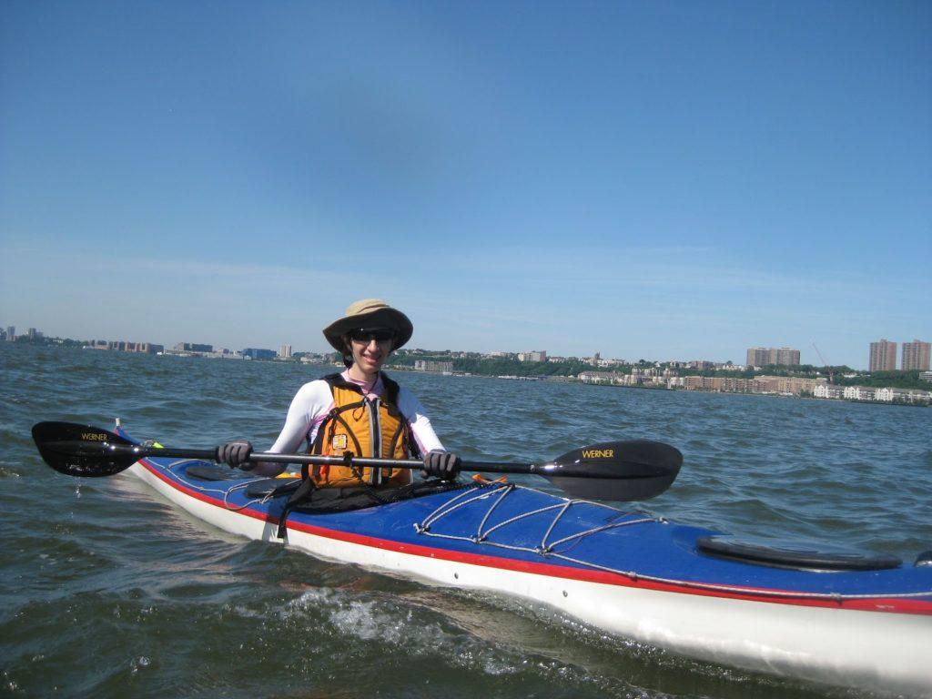 Kayak Cowgirl, VPC Argonaut, 2012.