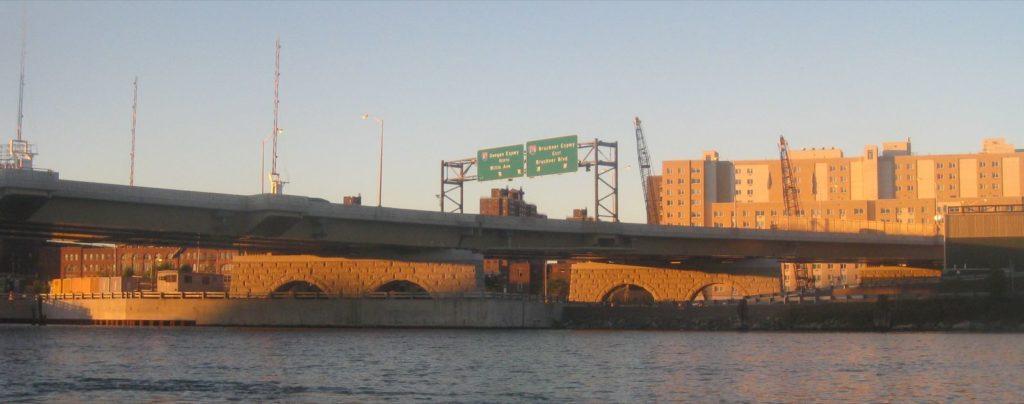 Bridge on the Harlem.