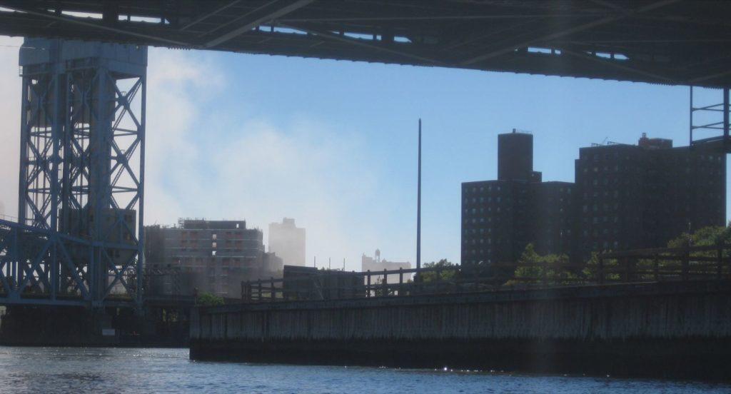 Harlem River, near 138th Street.