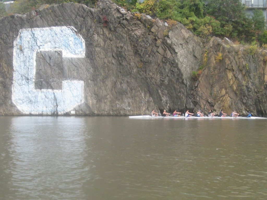 Rowing at Columbia C.