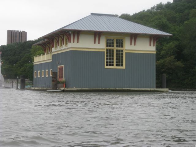 Peter Sharp Boathouse.