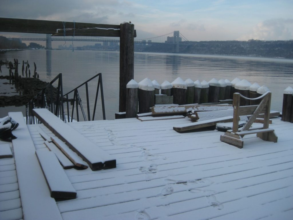 Inwood Canoe Club High Deck.