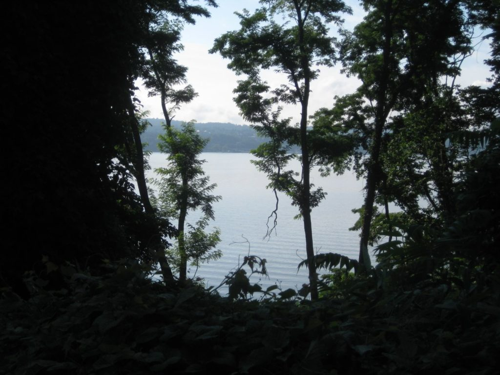 Looking from Croton.