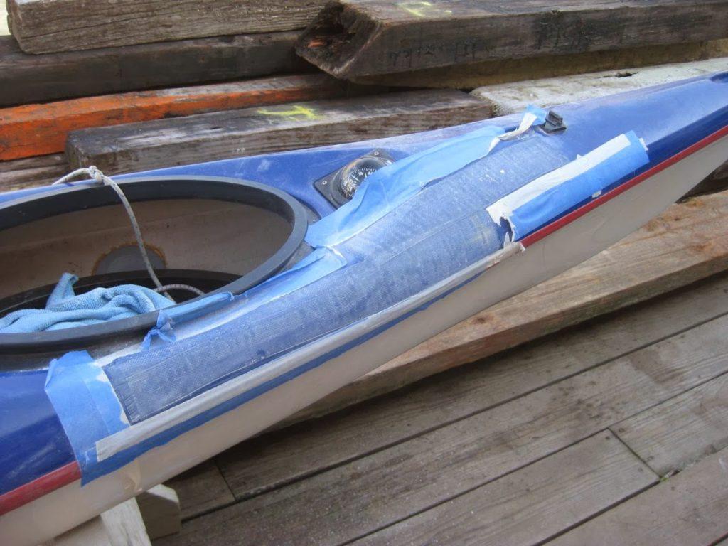 Argonaut Gelcoat Repair.