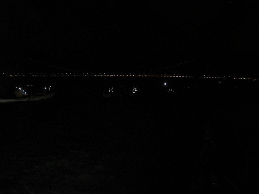 Approaching a Bridge.