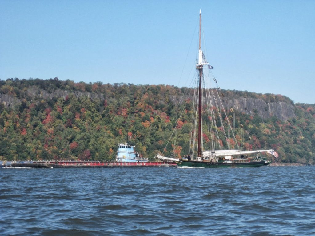 Riverkeeper and Barge.