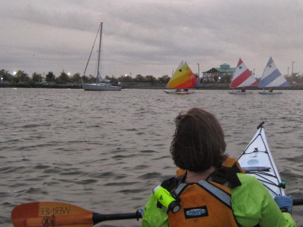 Approaching Liberty Marina.