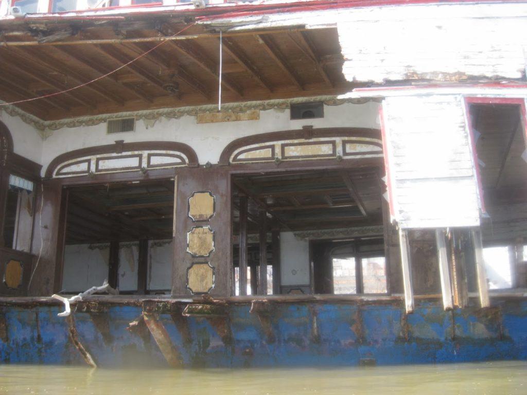 Ferryboat Binghamton, Interior.