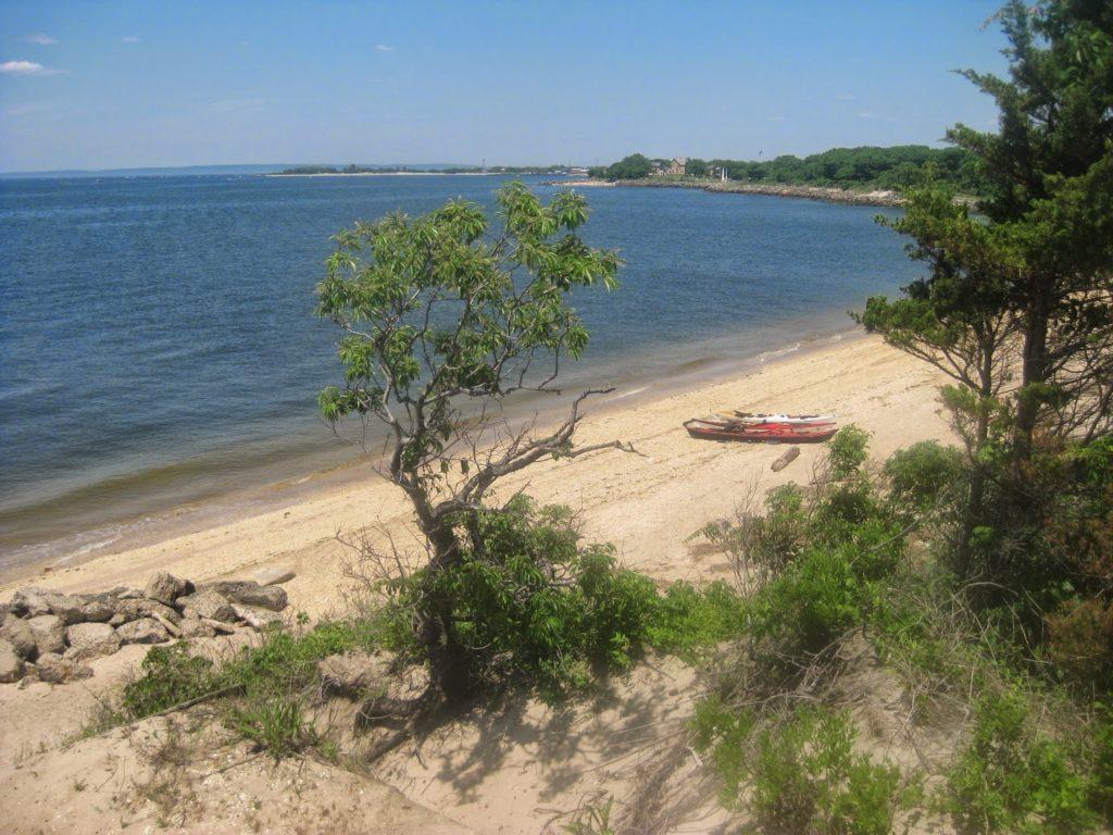 Landing Site at Sandy Hook.