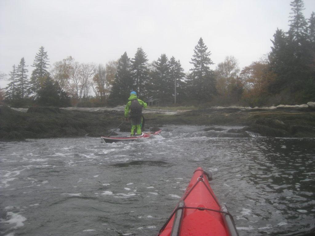 Stand Up Kayaking.