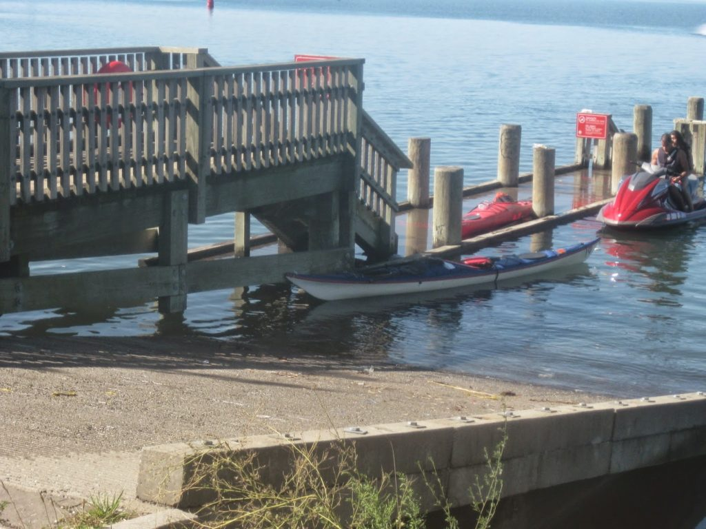 Break at Flushing Dock.
