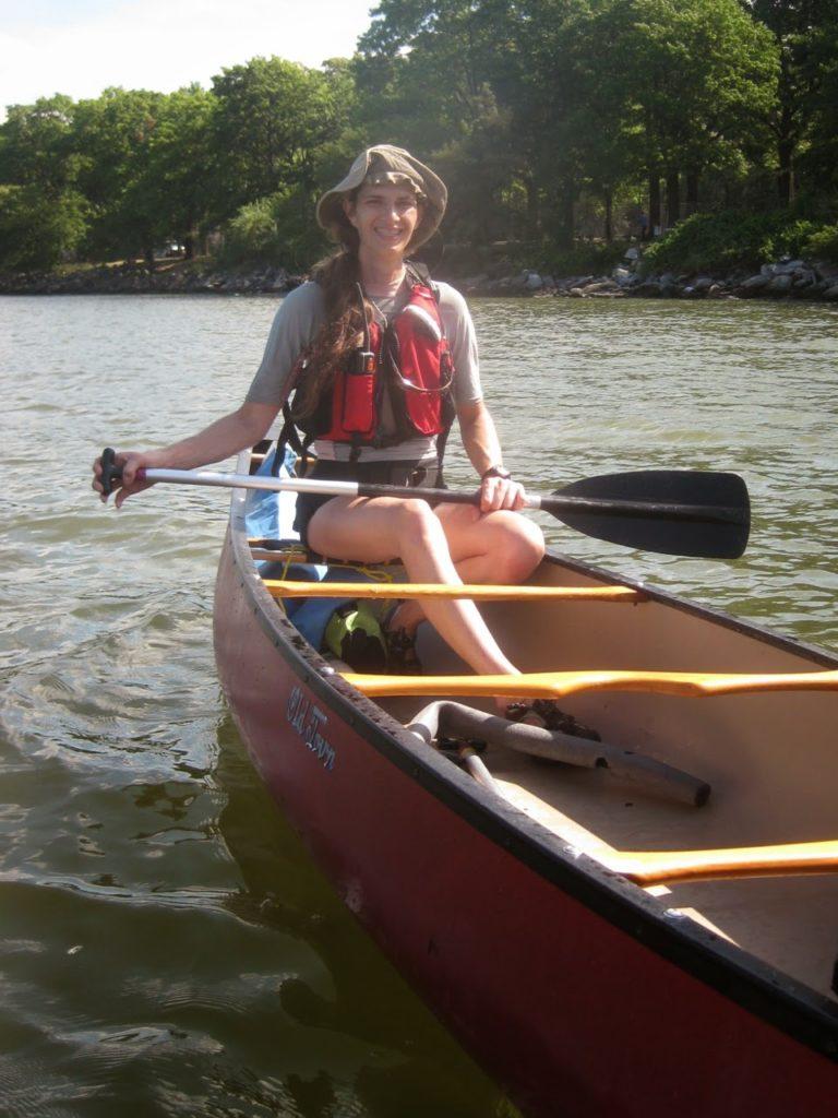 Canoe on Hudson.