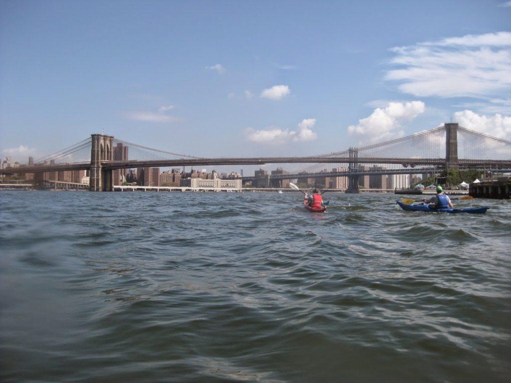 Approaching Brooklyn Bridge