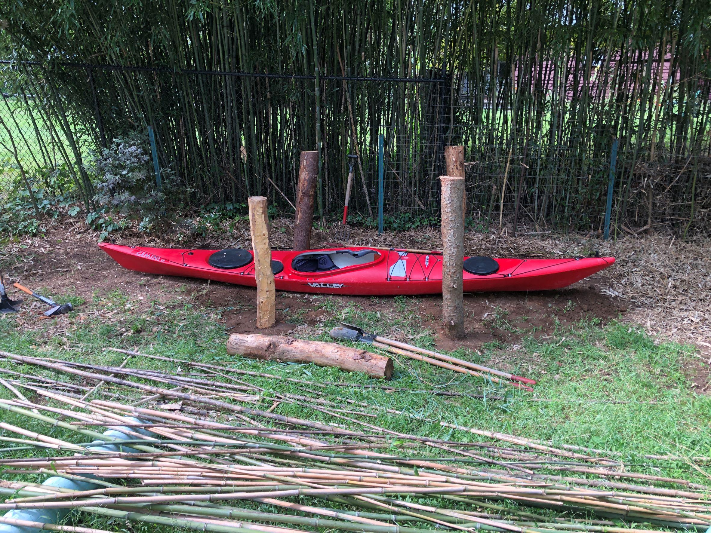 Kayak Rack Posts