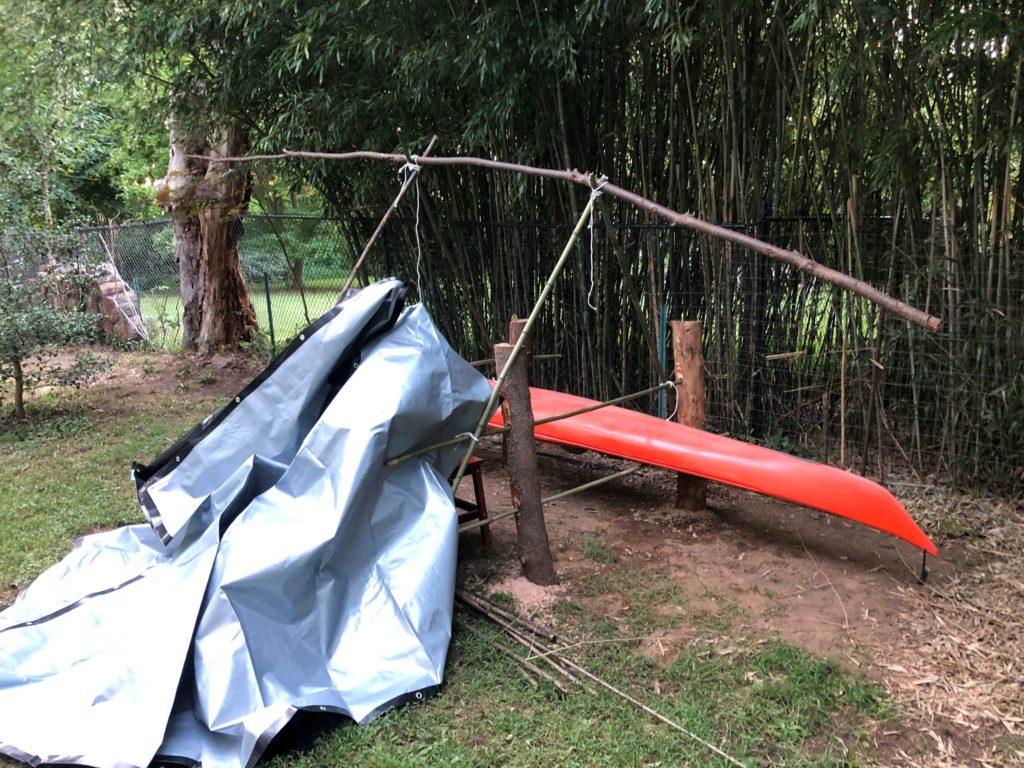 Kayak Rack Frame